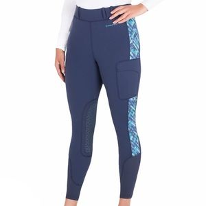 Noble Outfitters - Printed Riding Tights - Navy